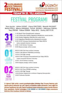 #tedak#festival#program